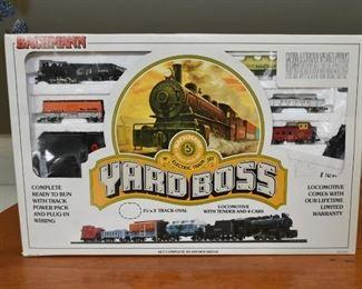 Bachmann Yard Boss Train Set