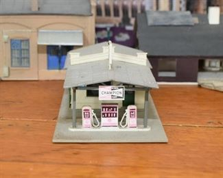 Model Train Buildings