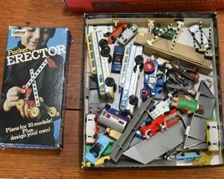 Pocket Erector Set, Miniatures & Toys