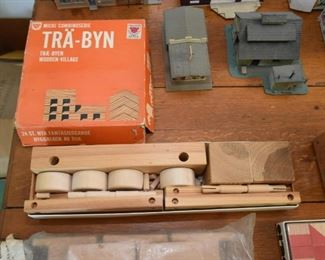 Wooden Building Set