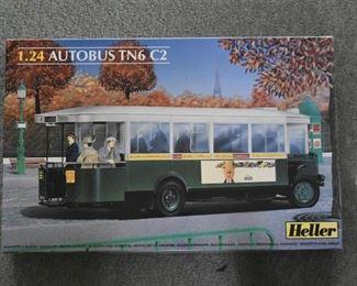 Heller Autobus Model