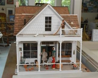 Old Time General Store Model / Miniature / Doll House / Dollhouse
