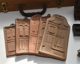 Clay Cookie Molds (Houses)