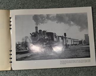 Midwestern Railroads - Trains Album of Photographs