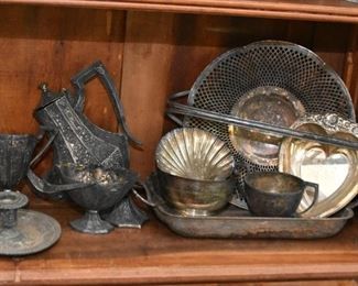 Antique & Vintage Silver Plate / Silverplate Pieces