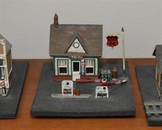 Model Train Buildings & Houses