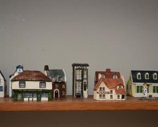 Miniature Houses & Buildings (Ceramic, Clay, Porcelain, Etc.)