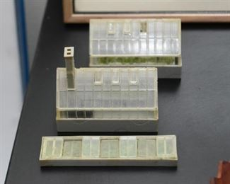 Miniature Greenhouses - the two in front are SOLD
