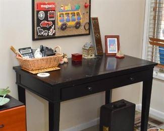 Desk, Bulletin Board, Office Supplies, Etc.