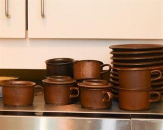 Stoneware Teacups / Demitasse Cups