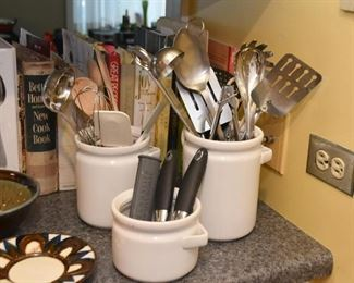 Kitchen Utensil Holders, Kitchen Utensils, Cookbooks