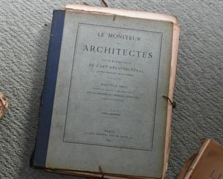 Le Moniteur de Architectes Books & Prints
