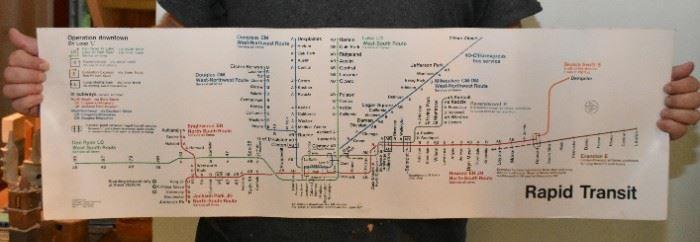 1970's CTA Maps