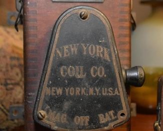 Antique Model T Car Battery by New York Coil Co.
