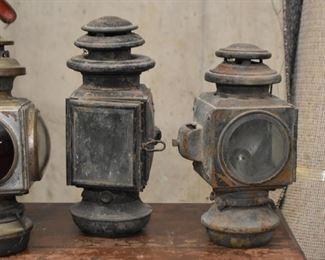 Antique / Vintage Metal Lanterns