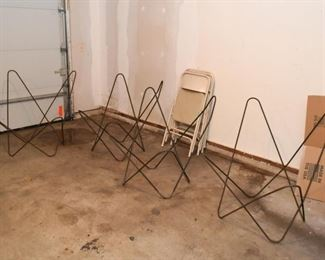 Set of 4 Butterfly Chair Frames