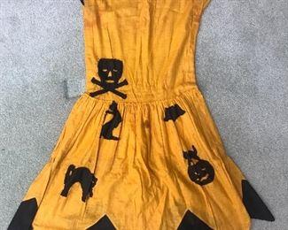 1930/40s Halloween Dress Rare!