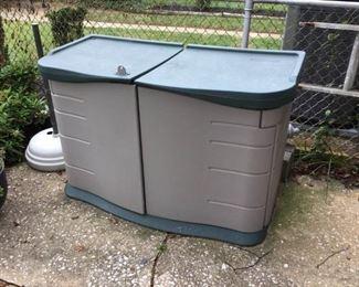 Rubbermaid Garden Storage Bin