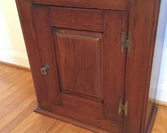 Antique Solid Wood Cabinet/Cupboard https://ctbids.com/#!/description/share/228196