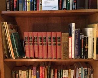 A Shelf of Books (Lot 2) https://ctbids.com/#!/description/share/228204