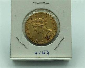 1898 Liberty Head $10 Gold Coin (#2) https://ctbids.com/#!/description/share/231480