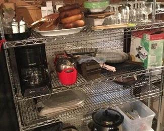 Rolling metal Bakers rack with six shelves https://ctbids.com/#!/description/share/231031