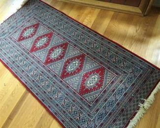 Samarkand Wool runner rug https://ctbids.com/#!/description/share/231017