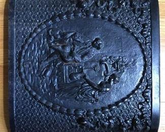 Cast iron fireplace shield or cover https://ctbids.com/#!/description/share/231007