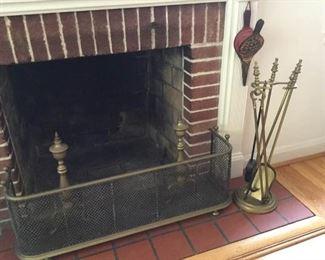 Vintage brass fireplace tools https://ctbids.com/#!/description/share/231013