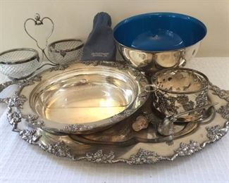 Collection of Silverplated Decor and More https://ctbids.com/#!/description/share/230991