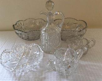 Beautiful Cut Glass Collection https://ctbids.com/#!/description/share/230985
