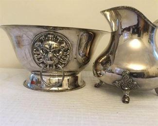 Italian Bowl and Barbour Quadruple Silver Plate Pitcher https://ctbids.com/#!/description/share/230825