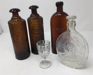 Vintage Promotional bottles and glass https://ctbids.com/#!/description/share/230656