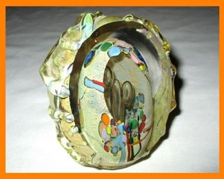 Unusual and Quite Stunning Glass Paperweight
