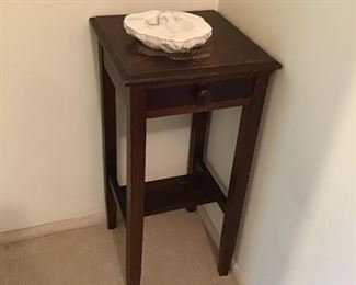 Telephone Stand and Ashtray