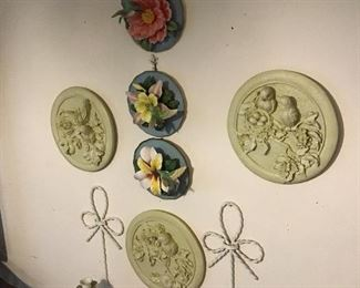 Collectible Bird and Floral Plates