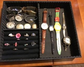 Vintage Watches and Rings