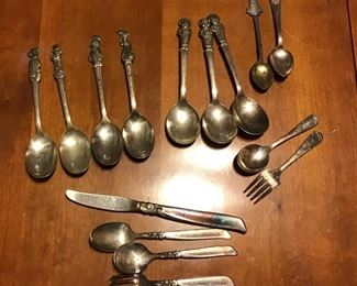 Collectible Spoons and Child's Utensils