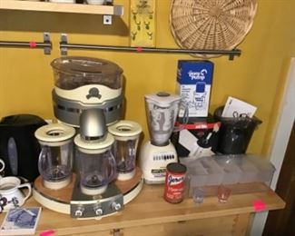 Blenders, Wine and Bar Accessories