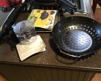 Tortilla Pans, Steamer and Chopper