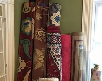 Lots of Area Rugs