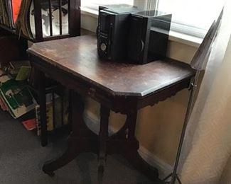 Eastlake Table and Stereo