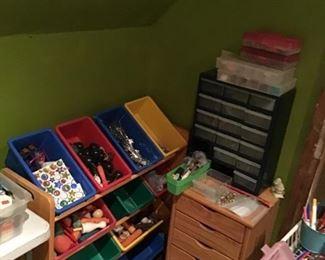 Crafts and Craft Storage