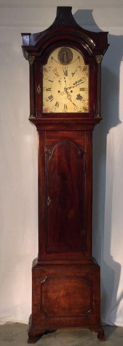 18th Century Long Case Grandfather clock