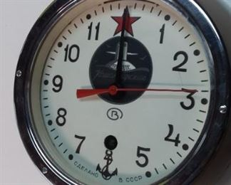 Soviet Union submarine clock...authentic, not a reproduction.