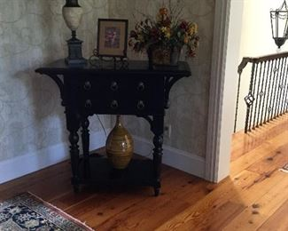 Two drawer entry table