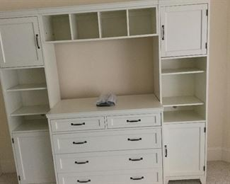 Pottery Barn white chest