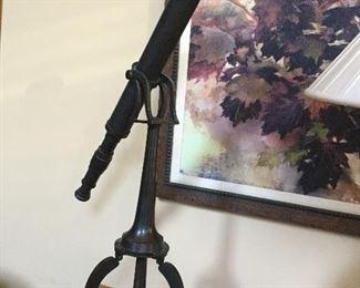 Bronze telescope