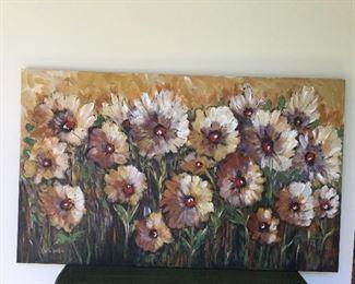 Karen Heaton oil on canvas
