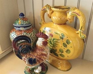 Portugal Italy pottery
